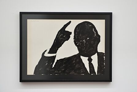 Sergio Lombardo, 'Untitled, Charles De Gaulle', 1962