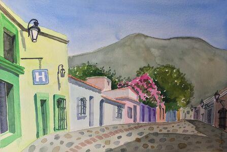 Susan Greenstein, 'Oaxacan Buildings', 2019