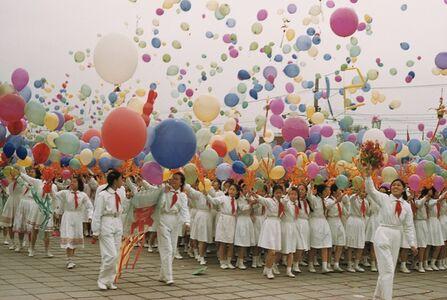 Brian Brake, 'May Day celebrations, Tiananmen Square, Beijing, China', 1957
