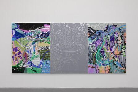Jin Jinghong 金景鸿, 'Fountain and Water Splash on Tree Branches ', 2019