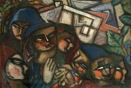 Bela Kadar, 'Family', ca. 1940