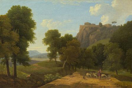 Jean Victor Bertin, 'Shepherd with his Flock', ca. 1820