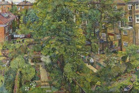 Melissa Scott-Miller, 'View of Back Gardens', Contemporary