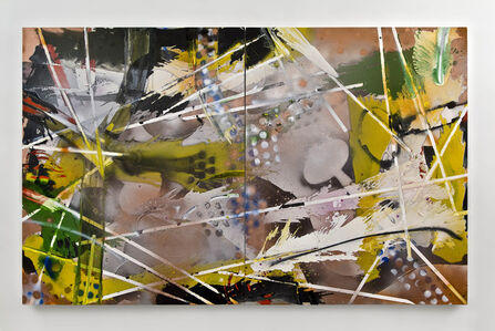 Philippa Blair, 'Pursuit Snow Leopard (Diptych)', 2017