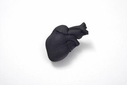 Amina Benbouchta, 'Untitled (Black Heart)', 2013
