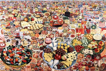 Erró, 'Foodscape', 1964