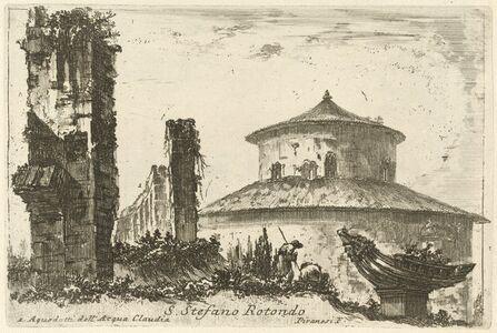 Giovanni Battista Piranesi and Various Artists, 'Varie vedute di Roma antica e moderna disegnate e intagliate da celebri autori', published 1748