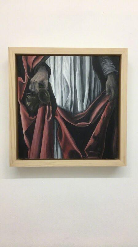 Aimee Cardoso, 'Widow', 2018, Painting, Oil on panel, Ro2 Art