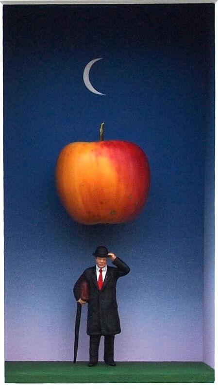 Volker Kühn, 'Dies ist Kein Magritte II ', 2015, Mixed Media, Mixed media, Plus One Gallery