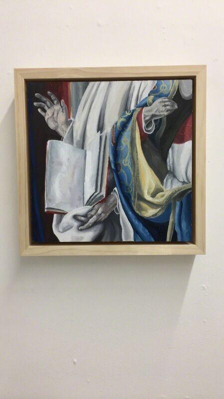 Aimee Cardoso, 'Saints', 2018, Painting, Oil on panel, Ro2 Art