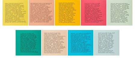 Jenny Holzer, ' 9 Inflammatory Essays 1979-1982', 2000