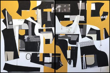 Susan Washington, 'Deconstructed No. 10 (Diptych)', 2017