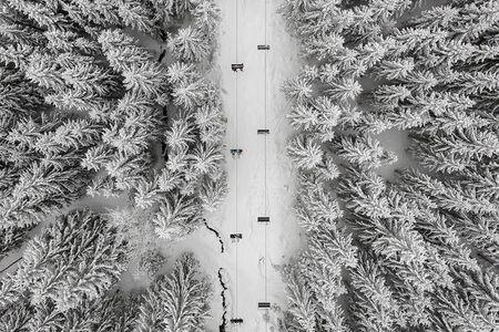 Kacper Kowalski, 'Depth of Winter #32 '