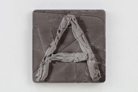 Thomas Locher, 'Lumpenalphabet (A)', 2019