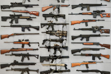 Liu Bolin, 'Hiding in New York No. 9 — Gun Rack', 2013