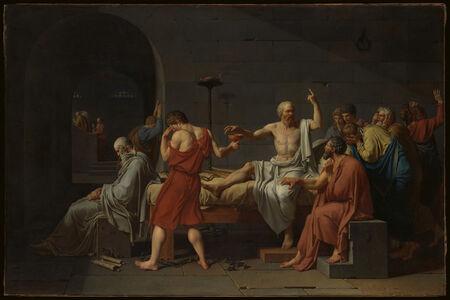 Jacques-Louis David, 'The Death of Socrates', 1787