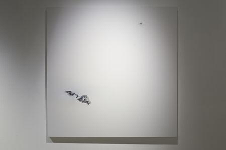 Magalie Comeau, 'Prendre place dans le point', 2016
