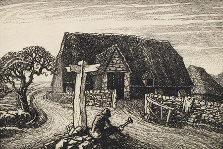 Robin Tanner, 'The Homealong', 1928