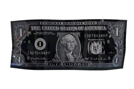 Karl Lagasse, 'One Dollar - Black - Small Size', 2020