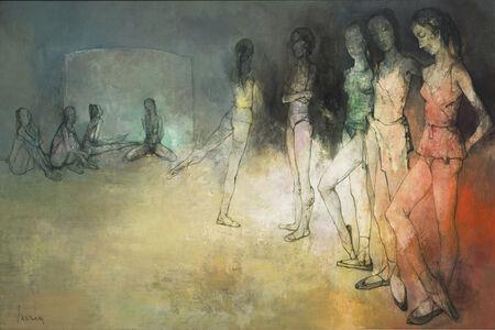 Jean Jansem, 'La salle de répétition', 1968-1969