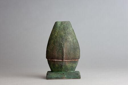 Randy Johnston, 'Figure vase, copper glaze', n/a