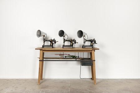William Kentridge, 'Singer Trio', 2019