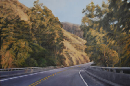 """Clifford Smith, '""""Pacific Light on Coastal Highway""""', 2012"""
