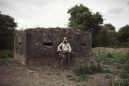 Mikel Bastida, 'Paddock Wood (England), Battle of Guadalcanal. 1942. '