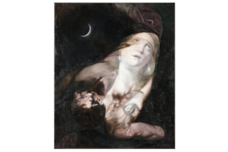 Masha Gusova, 'The Sentimentalist (after Ribera and Cagnacci)', 2019