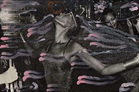 Ming Smith, 'Grace Jones at Studio 54', 1978