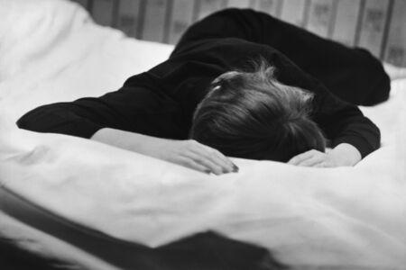 René Groebli, 'The Eye of Love, Lying On Bed, Paris (no. 500)', 1952