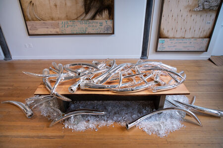 """Joseph Rossano, 'Individual Tusks From the """"Ivory.125"""" Installation', 2020"""