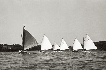 Priscilla Rattazzi, 'Sailing around the Pond Regatta, East Hampton', 1998
