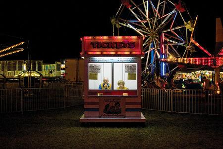 Jerry Siegel, 'Ticket Booth, Dallas County, AL', 2007