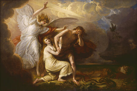 Benjamin West, 'The Expulsion of Adam and Eve from Paradise', 1791
