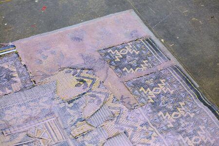 Sophie Stone, 'Untitled (Bruised Carpet in Lavender)', 2016