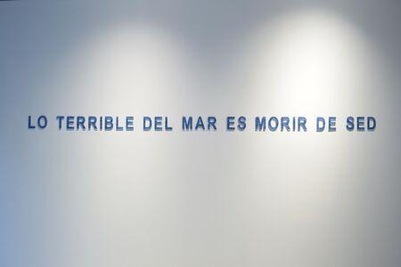 Santiago Velez, 'Mar de fondo', 2018