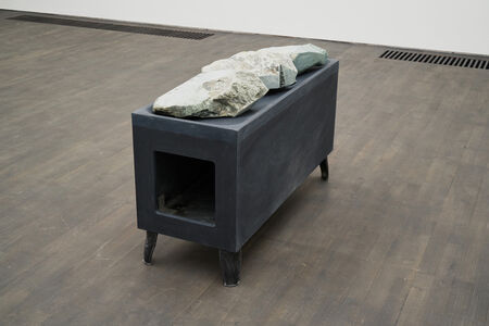 Lucy Skaer, 'Stone Stove', 2019