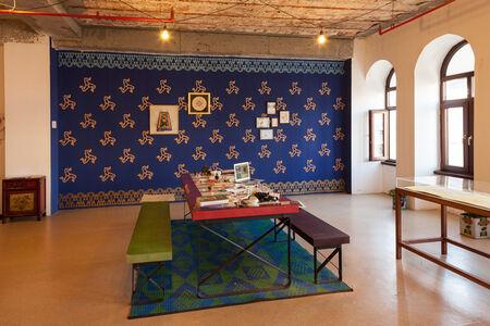 Cansu Çakar, 'Installation view of Women's Atelier of Illumination'
