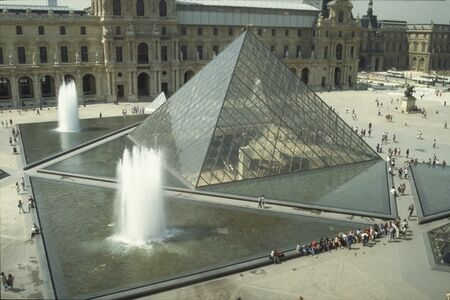 I.M. Pei, 'Louvre Project (Pyramid)', 1984-1988