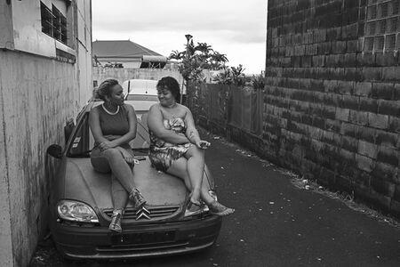Andrew Tshabangu, 'Friends Conversation, Le Grand Chemin, St Denis, Reunion Island Series', 2018