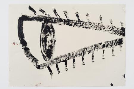Rose Wylie, 'Black Eye', 2018