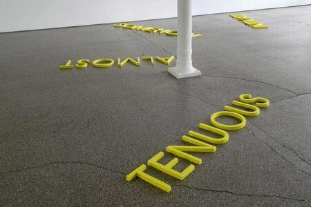 Robert Barry, 'Yellow Circle', 2009