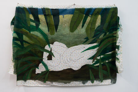 Emilie Gossiaux, 'Looking Through the Leaves at Two People Making Out', 2018