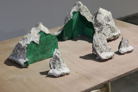 Shi Qing 石青, 'Time Cuts the Riverbed', 2010