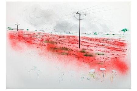 Adam King, 'Red Interior', 2016