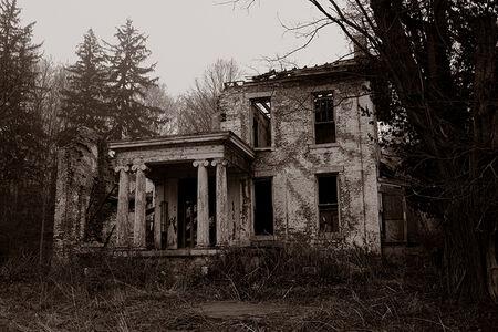 Gary Beeber, 'Abandoned Manor House', 2020