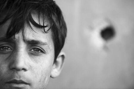 Anthony Dawton, 'Boy's Head, Beit Hanoun', 2011