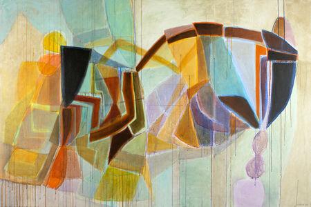 Eva Isaksen, 'Fields of Color', 2018