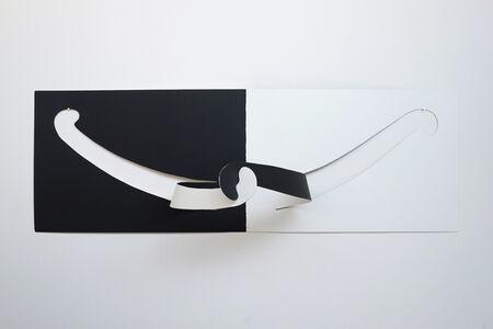 Joseph Ferriso, 'Hug (Simply White and Universal Black)', 2018